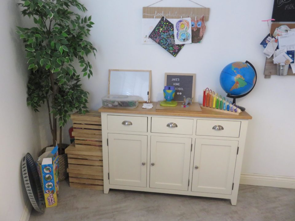 home schooling area