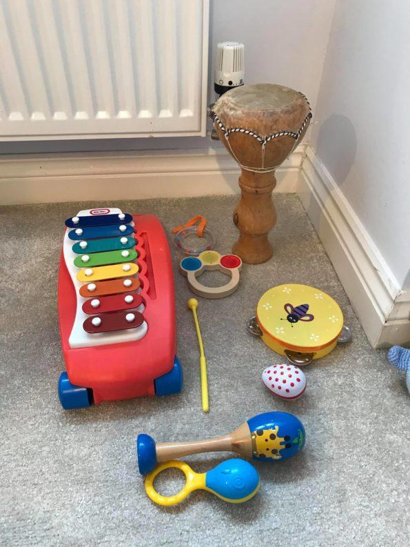 Music play area