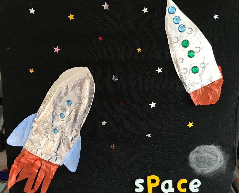 the rockets and stars plus space sign up