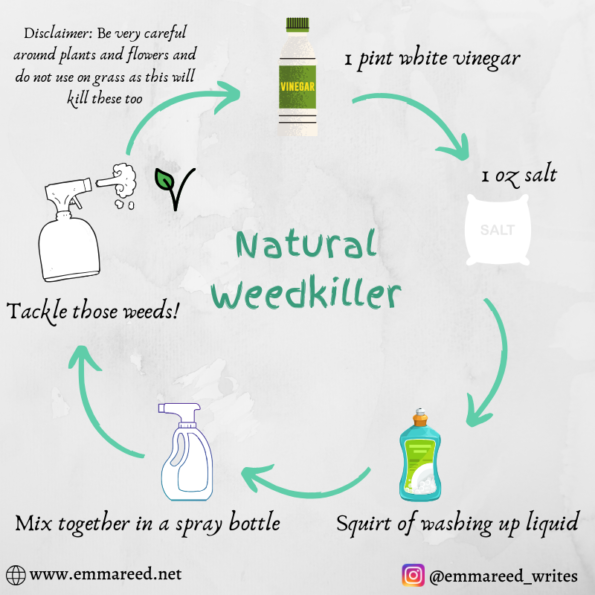 natural weedkiller graphic