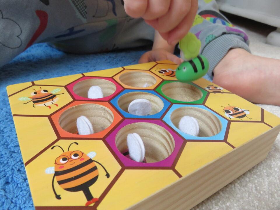wooden bee game