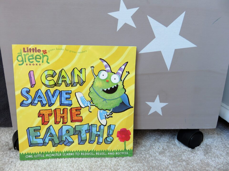 I can save the earth book front cover