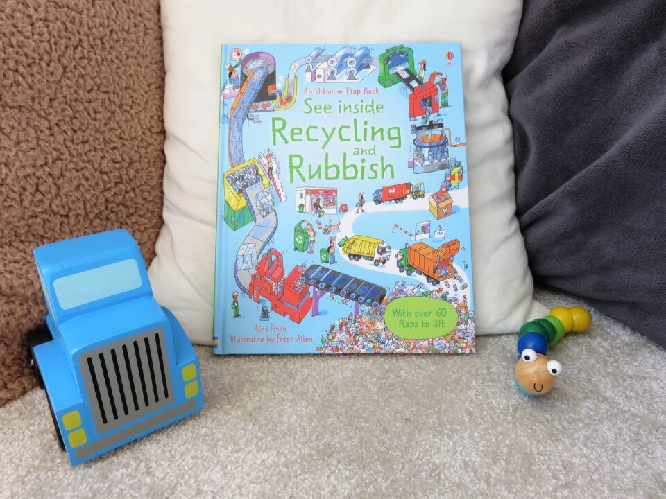 recycling and rubbish book