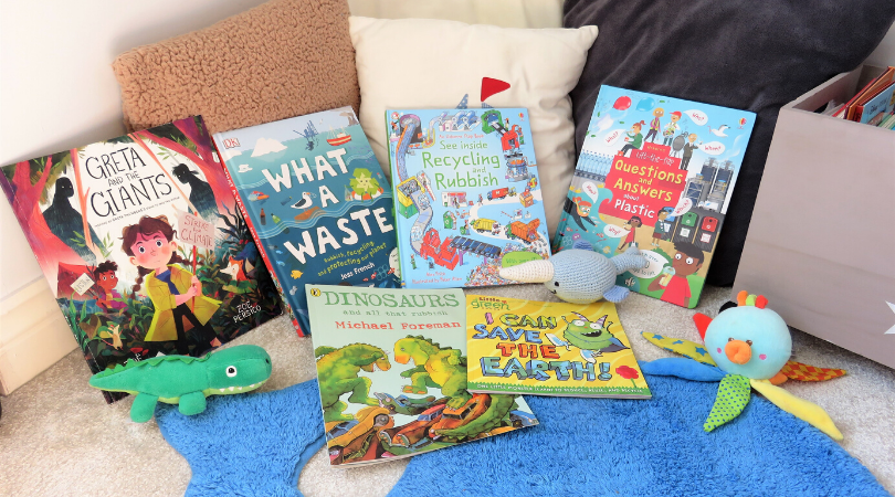 the 6 books we have to teach kids about environmental issues
