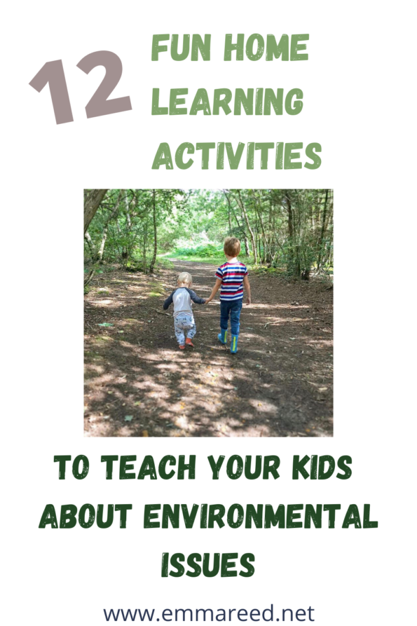12 fun home learing activities to teach your kids about environmental issues