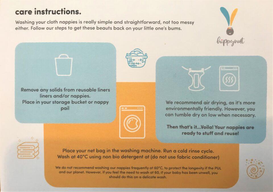 Hippynut care card