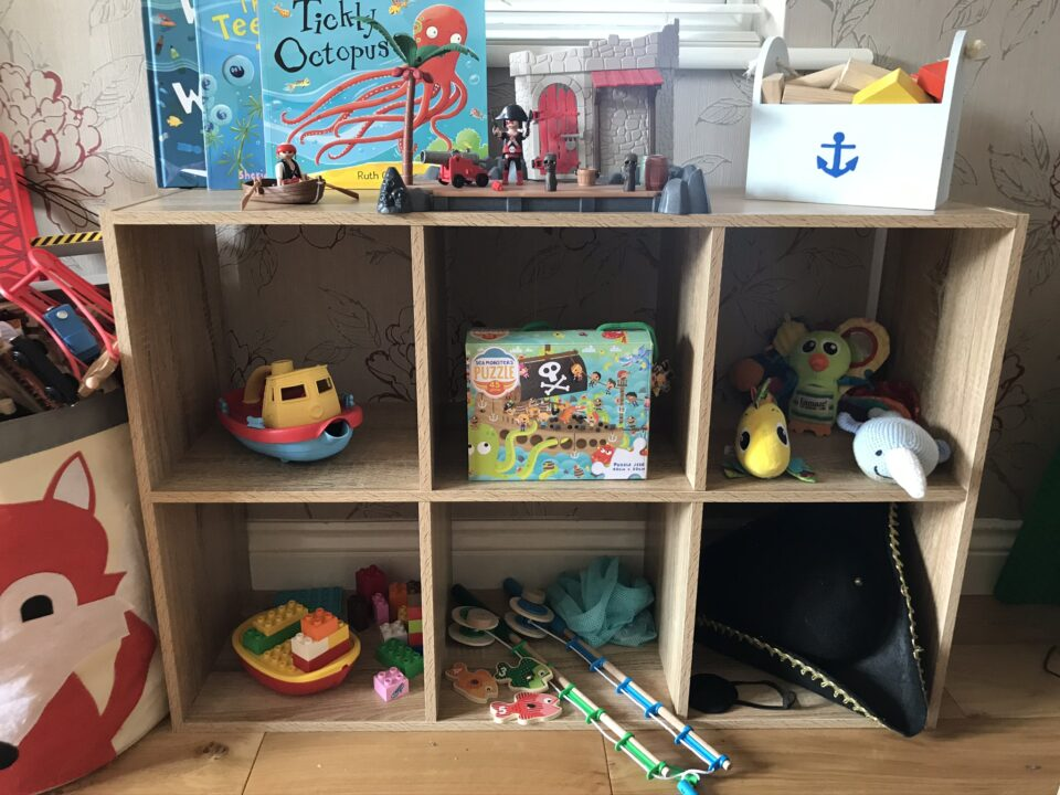 pirate theme toy rotation