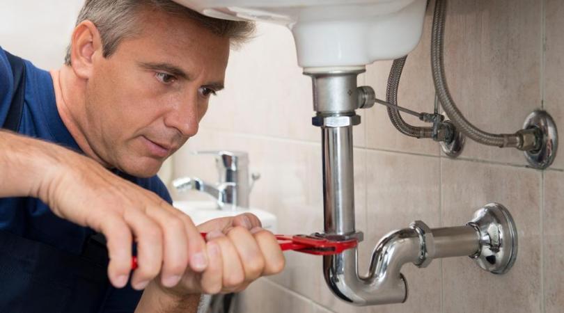 a plumber