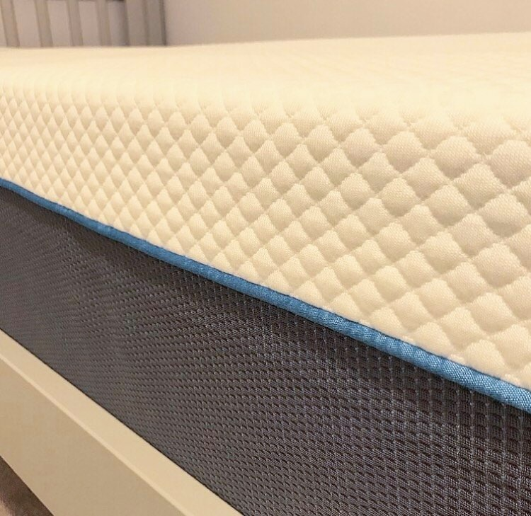the thickness of the mattress
