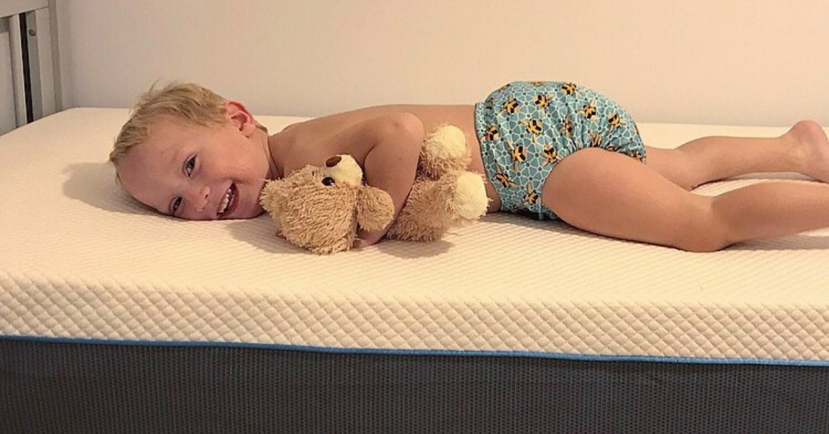 William on his Simba mattress