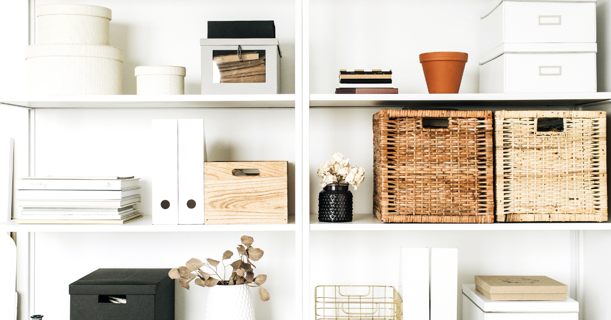 home storage shelving