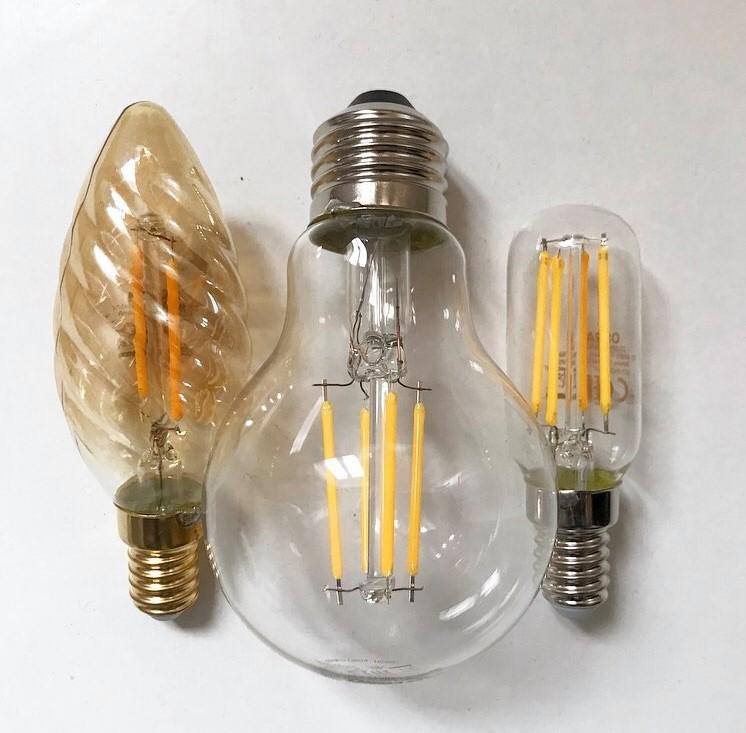 3 LED light bulbs