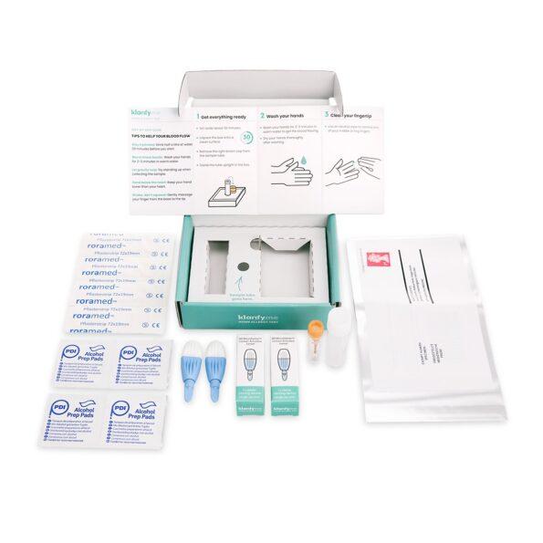 home allergy testing kit