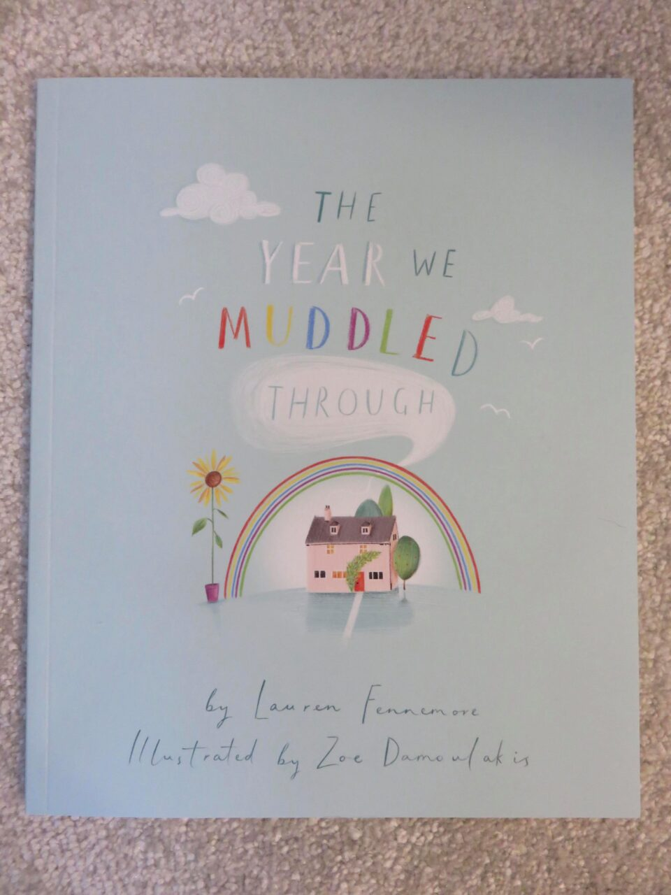 front cover of the book the year we muddled through