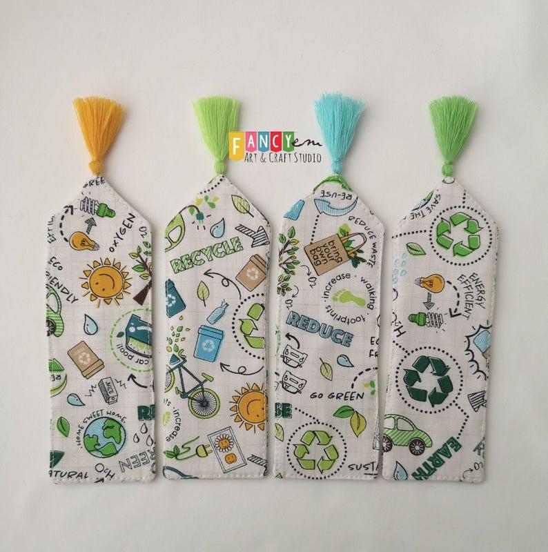 4 eco bookmarks