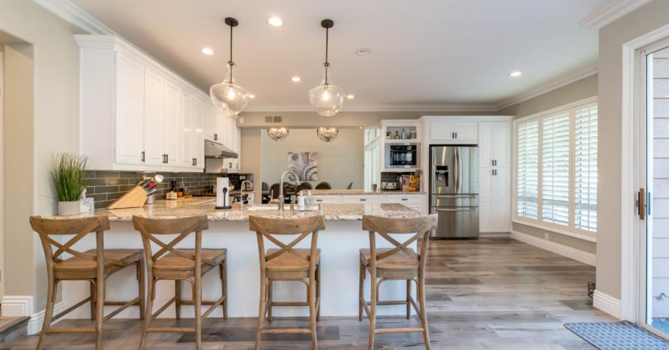 a fancy kitchen