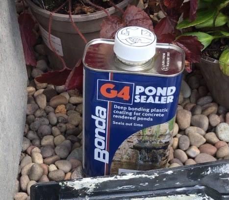 G4 pond sealer