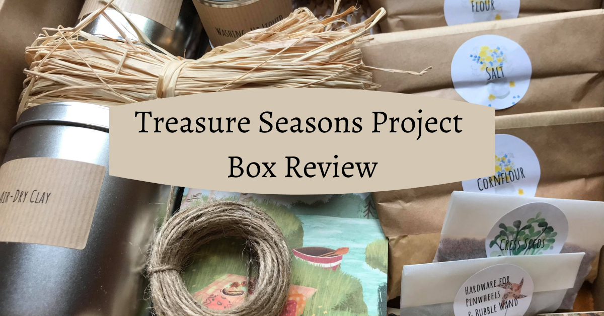 treasure seasons project box review